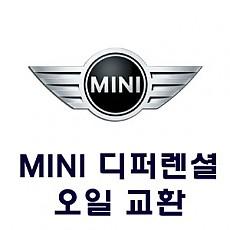 [MINI] 디퍼렌셜 오일 교환