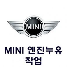 [MINI] 엔진누유 작업